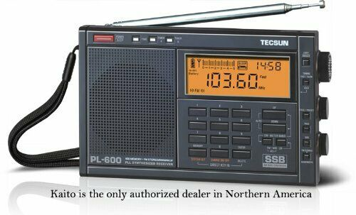 Tecsun PL600 AM FM LW SSB Shortwave Radio PLL Synthesized wi
