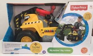 FISHER PRICE BIG ACTION DIG AND RIDEON Minchinbury Blacktown Area Preview