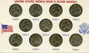 Silver War Nickel Set