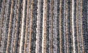 Black Stripe Carpet