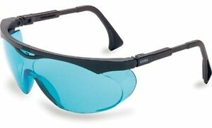 Uvex S1932X Skyper Safety Eyewear, Black Frame, SCT-Blue UV