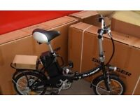 boxed Dillenger Cheetah Electric Bike