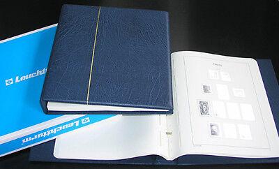 LEUCHTTURM Vordruckalbum Danzig Memel 1920-1939 im blauen Schraubbinder NEU!