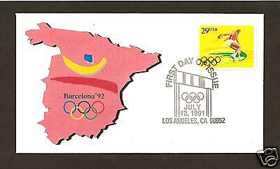2554 * BARCELONA OLYMPICS * DISCUS >, used for sale  Shipping to India