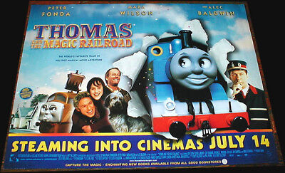 THOMAS AND THE MAGICAL RAILROAD POSTER ORIGINAL CINEMA ISSUED 2000 POSTER 16X12