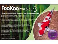 JanCentAn FooKoo - Koi Fish Food - ProColour 3mm selling 8 Kilos £10