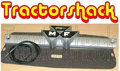 Massey Ferguson 135 165 175 Tractor Etc Front Bar Badge Grille Set