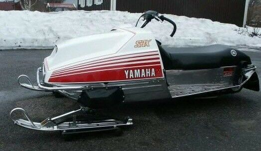 Iso 1977 yamaha srx 440 in decent condition and running for Yamaha 440 snowmobile engine