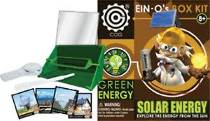 SOLAR-ENERGY-32392-TEDCO-TOYS-Professor-Ein-Os-BOX-KIT-Hands-On-Experiments