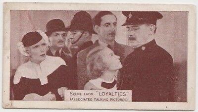 Basil Rathbone + Miles Mander 1935 Ardath SCENES FROM BIG FILMS Tobacco Card #65