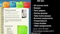 Guarantee* an A+ with our essay academic writing service