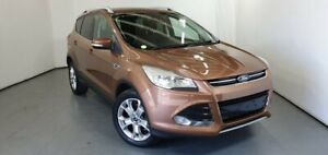 2013 Ford Kuga TF Trend PwrShift AWD Brown 6 Speed Sports Automatic Dual Clutch Wagon Elizabeth Playford Area Preview