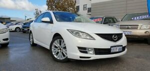 2010 Mazda 6 GH MY09 Classic White 5 Speed Auto Activematic Hatchback
