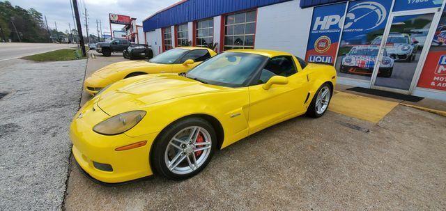2007 Yellow Chevrolet Corvette Z06  | C6 Corvette Photo 2