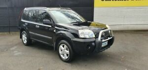 2007 Nissan X-Trail T30 II MY06 ST-S Black Obsidian 4 Speed Automatic Wagon Invermay Launceston Area Preview