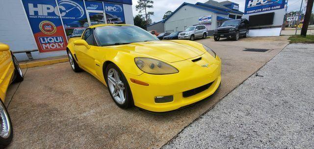 2007 Yellow Chevrolet Corvette Z06  | C6 Corvette Photo 6