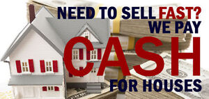 We Buy Houses!!  Why Fix When You Can Sell!