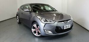2013 Hyundai Veloster FS3 Street Coupe Silver 6 Speed Manual Hatchback Elizabeth Playford Area Preview
