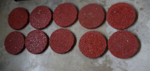 7 plastic fence pieces $10, 10 red turf stepping stones $10 Kitchener / Waterloo Kitchener Area image 2