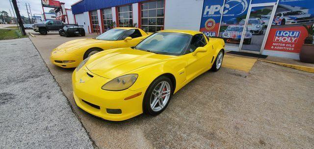 2007 Yellow Chevrolet Corvette Z06  | C6 Corvette Photo 5