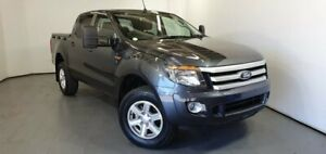 2014 Ford Ranger PX XLS Double Cab Grey 6 Speed Manual Utility Elizabeth Playford Area Preview