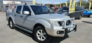 2013 Nissan Navara D40 S6 MY12 ST Silver 6 Speed Manual Utility Phillip Woden Valley Preview