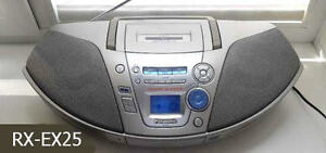 RADIO PANASONIC AM/FM LECTEUR CD - TAPE MODEL : RX-EX25