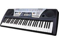 Yamaha Portatone PSR-175 electric organ MIDI keyboard piano full-size keys