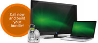 LIMITED TIME TV + INTERNET + HOMEPHONE DEALS!!!