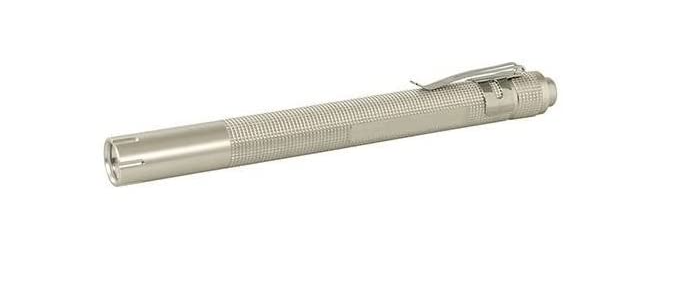 Quality Branded Pencil Inspection Penlight Torch Aluminium WITH FREE Batteries
