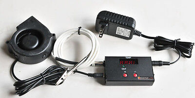 BBQ Automatic Temperature Controller ATC Big Green Egg Type Smoker,Single Probe for sale  China