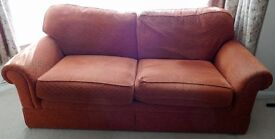 2-seater M & S sofa FREE to collect.