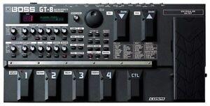 Boss GT-8 Multi-effets pour guitare électrique avec valise