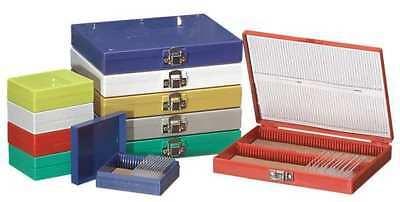 Zoro Select 880120 Microscope Slide Box100 Slotswhite
