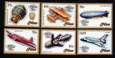 Niue 511-16 Flugpost postfrisch