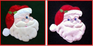 Christmas ornament patches