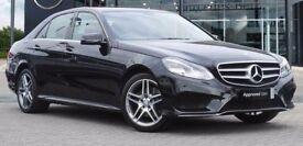 Mercedes E220 2.2 CDi AMG Sport, Saloon, Auto, Diesel, Black, 2013 (63), 30,181 miles