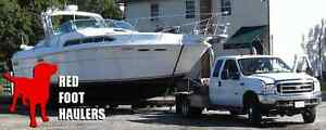 Boat Transport Anywhere in Canada Call 1-800-351-7009