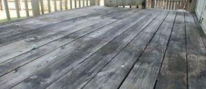 Free deck/porch demolition
