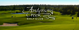 2 Free Green Fees for Anderson's Creek Golf Course