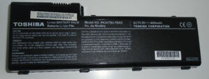 TOSHIBA LI-ION BATTERY PACK LAPTOP COMPUTER BATTERY PA3479U-1BAS