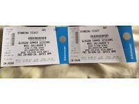 2 Noel Gallagher Tickets - Bellahouston Park 26/08