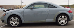 2001 Audi TT Quattro Coupe. Exceptional fun for winter driving.