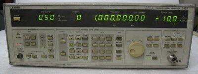 Leader 3220 Standard Signal Generator 0.1 - 1300 Mhz