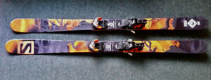 Salomon Q98 170cm skis with Warden 13 bindings