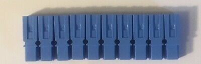 10 Pack Authentic Anderson Powerpole Blue Housing 1327g8 Power Pole