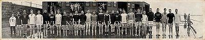 1911 Yale University Rowing Team Vintage Panoramic Photo 34