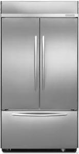 "Kitchenaid KBFC42FTS Architect® Series II 42"" Built-In Fridge"