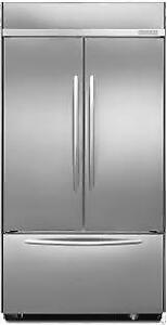 """Kitchenaid KBFC42FTS Architect® Series II 42"""" Built-In French Door Refrigerator, 24.2 Cu. Ft"""