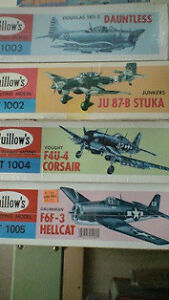Balsa Planes kits various scales by Guillows